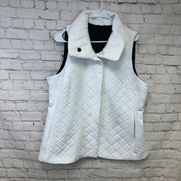 Mycra Pac Quilted Vest Size L White